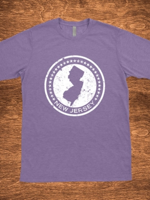 New Jersey Circle Design Unisex fit