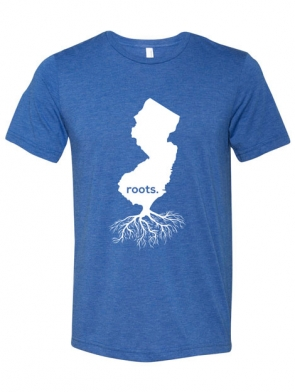Jersey-Roots Design Unisex-Royal