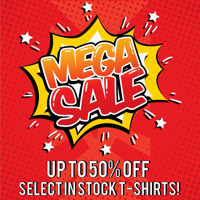 Mega Sale Popup - Up to 50% Select Items